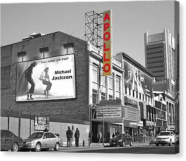 The Apollo Theater Canvas Print by Nina Bradica