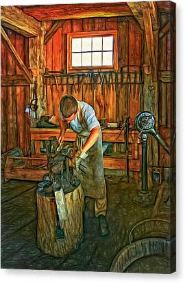 The Apprentice 2 - Paint Canvas Print by Steve Harrington