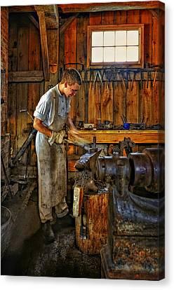 The Apprentice Canvas Print by Steve Harrington