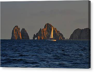 The Arch El Arco Cabo San Lucas Canvas Print by Christine Till