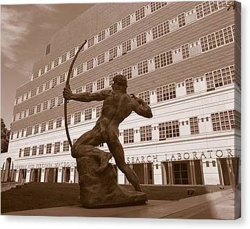 The Archer, University Of California Canvas Print by Panoramic Images