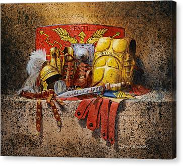 The Armour Of God Canvas Print by Graham Braddock