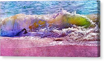 The Art Of Waving Canvas Print by Betsy C Knapp