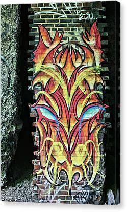 The Art Underground Canvas Print by JC Findley