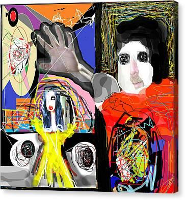 The Artist  Way  Canvas Print by Ruth Clotworthy