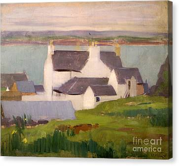 The Artists Studio Iona Canvas Print by Francis Campbell Boileau Cadell