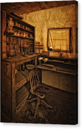The Assay Office Canvas Print by Priscilla Burgers