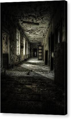 The Asylum Project - Corridor Of Terror Canvas Print by Erik Brede