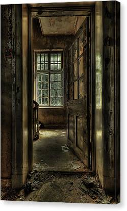 The Asylum Project - Welcome Canvas Print by Erik Brede