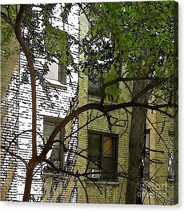 The Back Wall Canvas Print by Sarah Loft