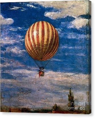 The Balloon Canvas Print by Pal Szinyei Merse