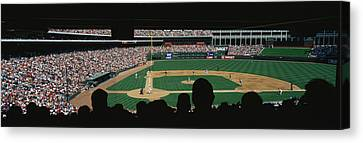 The Ballpark In Arlington Canvas Print by Panoramic Images