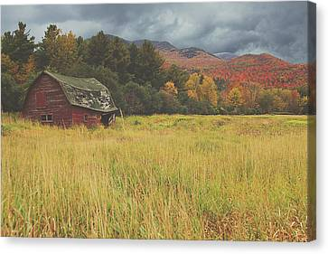 The Barn Canvas Print by Carrie Ann Grippo-Pike