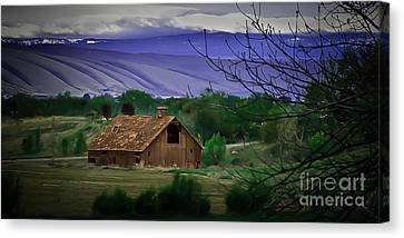 The Barn Canvas Print by Robert Bales