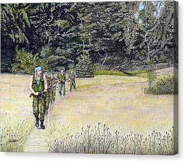 The Battle For Croatia Canvas Print by Albert Puskaric