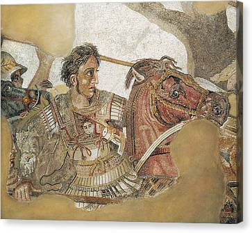The Battle Of Issus. 1st C. Detail Canvas Print by Everett