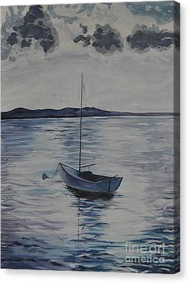 The Bay Canvas Print by Sally Rice