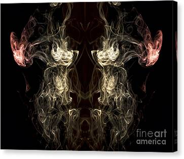 The Beast Canvas Print by Edward Fielding