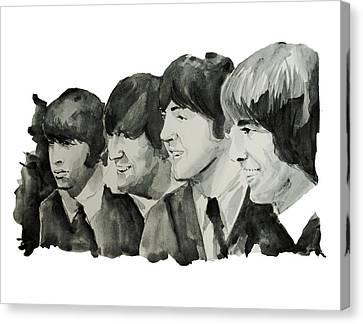 The Beatles 2 Canvas Print by Bekim Art