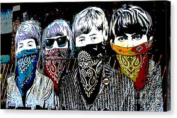 The Beatles Canvas Print by RicardMN Photography