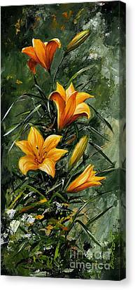 The Beauty Flower 06 Canvas Print by Emerico Imre Toth