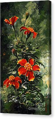 The Beauty Flower #10 Canvas Print by Emerico Imre Toth