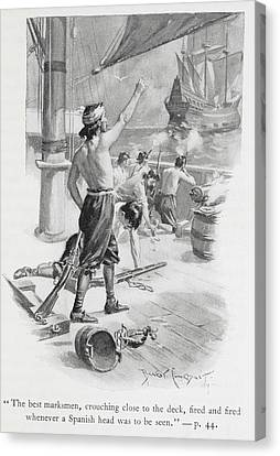 The Best Marksmen Canvas Print by British Library