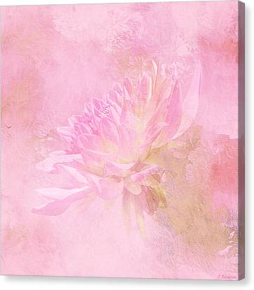 The Best Things In Life Are Unseen - Flower Art Canvas Print by Jordan Blackstone
