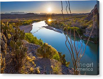 The Big Bend Canvas Print by Inge Johnsson