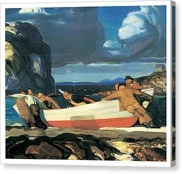 The Big Dory Canvas Print by George Bellows