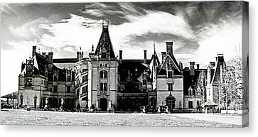 The Biltmore Estate 2 Canvas Print by Luther   Fine Art