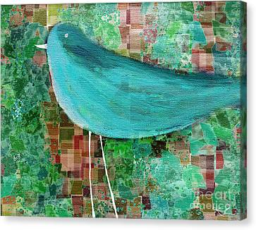 The Bird - 23a1c2 Canvas Print by Variance Collections