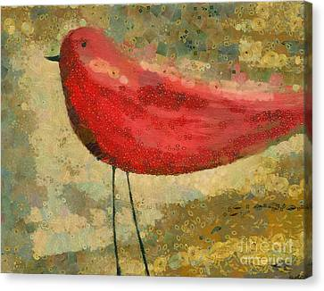 The Bird - K03b Canvas Print by Variance Collections