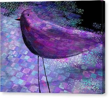 The Bird - S40b Canvas Print by Variance Collections