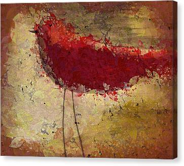 The Bird - S65b Canvas Print by Variance Collections