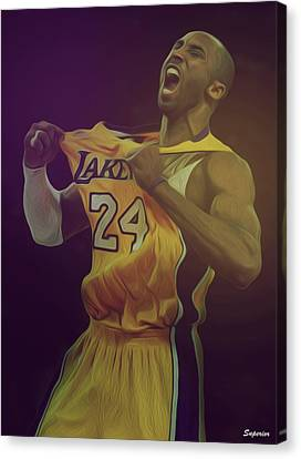 The Black Mamba Canvas Print by Superior Designs
