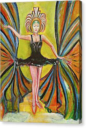 The Black Tutu Canvas Print by Tom Conway