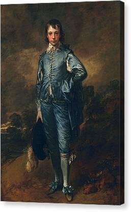 The Blue Boy, C.1770 Canvas Print by Thomas Gainsborough