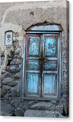 The Blue Door 1 Canvas Print by James Brunker