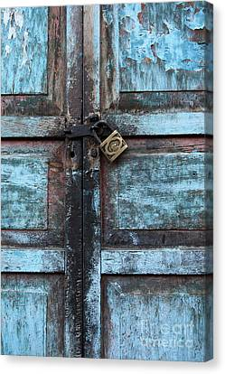 The Blue Door 2 Canvas Print by James Brunker