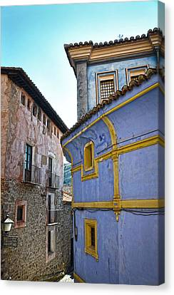 The Blue House Canvas Print by RicardMN Photography