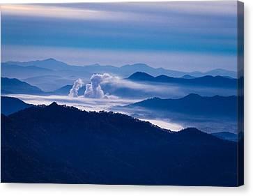 The Blue Ridge Mountains Canvas Print by Serge Skiba