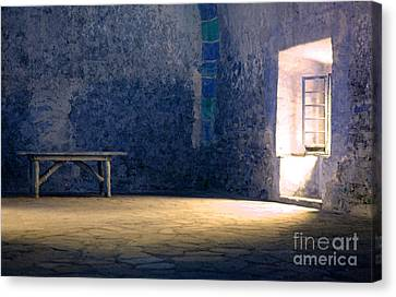The Blue Room Canvas Print by Bob Christopher