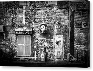 The Blues Ship Cafe Canvas Print by Marvin Spates