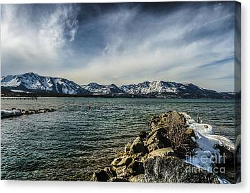 The Blustery Day Canvas Print by Mitch Shindelbower