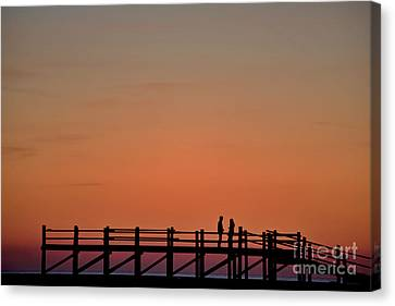 The Boardwalk Canvas Print by Heiko Koehrer-Wagner