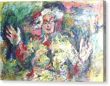 The Bobbe Canvas Print by Esther Newman-Cohen