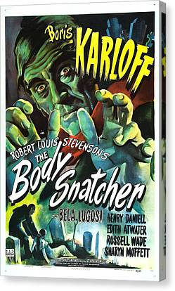 The Body Snatcher Canvas Print by MMG Archives