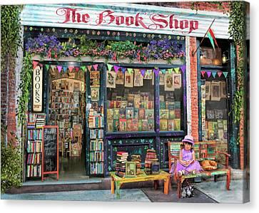 The Bookshop Kids Variant 1 Canvas Print by Aimee Stewart
