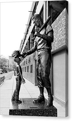 The Boston Legend Canvas Print by Greg Fortier
